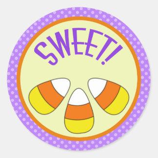 Pegatina dulce de las pastillas de caramelo de Hal