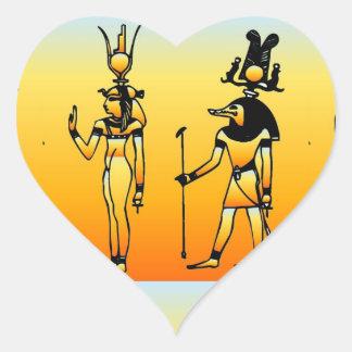 Pegatina egipcio de los Hieroglyphics