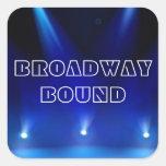 Pegatina encuadernado de Broadway