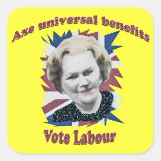 Pegatina escocés anti del partido laborista