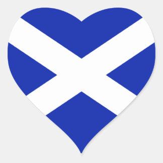 Pegatina escocés de la bandera