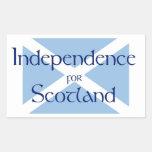 Pegatina escocés de la independencia