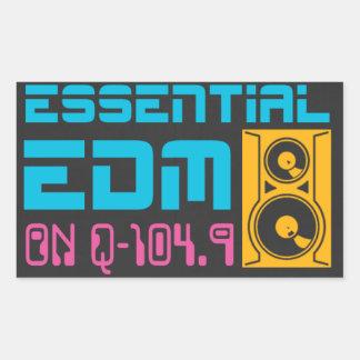 Pegatina esencial de EDM