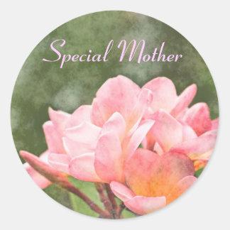 Pegatina especial de la madre del Frangipani