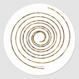 Pegatina espiral