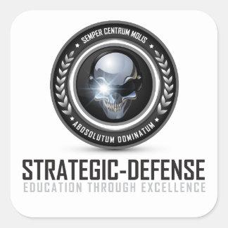 Pegatina estratégico del LLC de la defensa