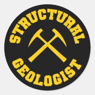 Pegatina estructural del geólogo