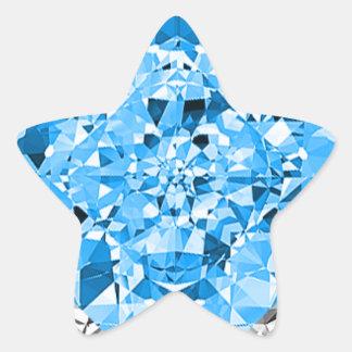 Pegatina ESTUPENDO de la ESTRELLA del diamante