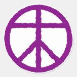 Pegatina eterno de la paz