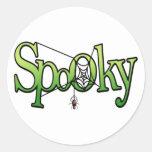 Pegatina fantasmagórico de Halloween
