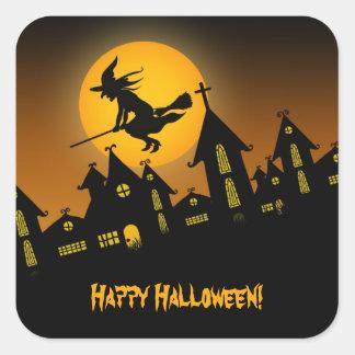 Pegatina fantasmagórico de Halloween 2