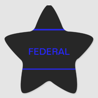 Pegatina federal de LEO