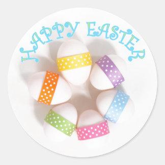Pegatina feliz de Pascua