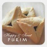 Pegatina feliz de Purim
