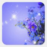 pegatina floral