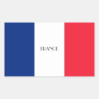 Pegatina francés de la bandera