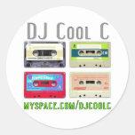 Pegatina fresco de DJ C Mixtape