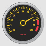 Pegatina fresco del indicador de la RPM