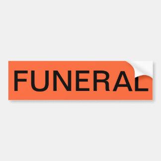 Pegatina fúnebre 2 pegatina para auto