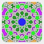 Pegatina geométrico islámico del modelo