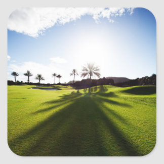 Pegatina Golfing