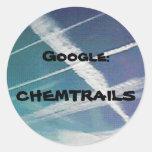 Pegatina: Google Chemtrails