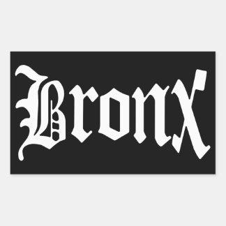 Pegatina gótico del vintage de Bronx Nueva York