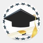 Pegatina graduado
