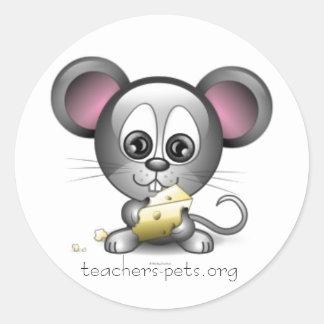 Pegatina grande del ratón