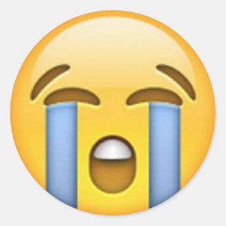 Pegatina gritador de Emoji