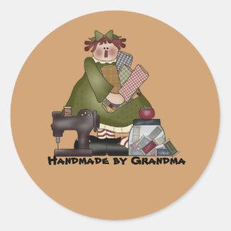 pegatina hecho a mano por la abuela