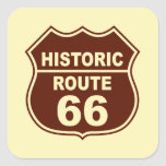 Pegatina histórico de la ruta 66