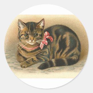pegatina ideal del gatito