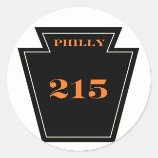 Pegatina incondicional punky del PA 215 de los