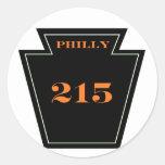 Pegatina incondicional punky del PA 215 de los avi