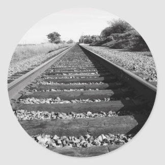 Pegatina infinito del ferrocarril