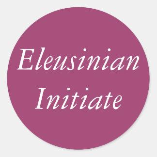 Pegatina iniciado de Eleusinian