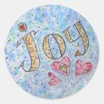 """Pegatina inspirado de la """"alegría"""" de la palabra"""