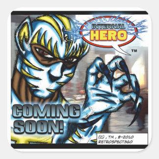 Pegatina interno de Tigerstrife del héroe