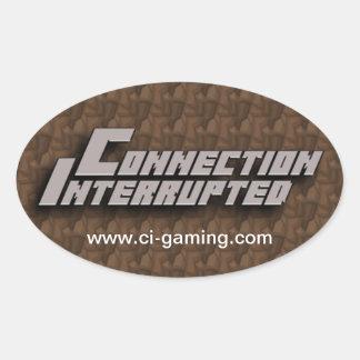 Pegatina interrumpido conexión