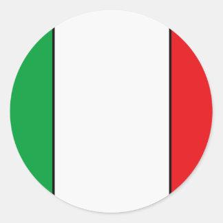 Pegatina italiano de la bandera