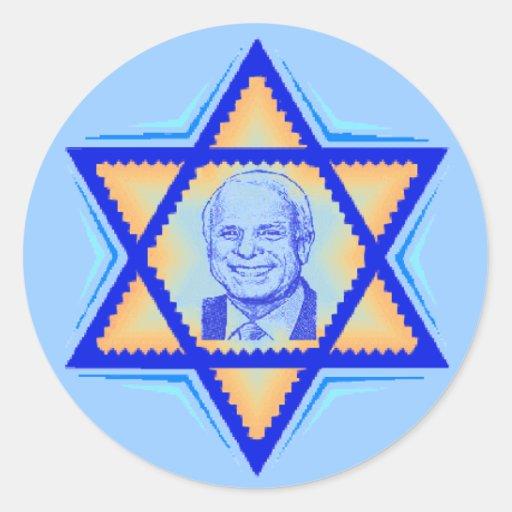 Pegatina JUDÍO de McCain