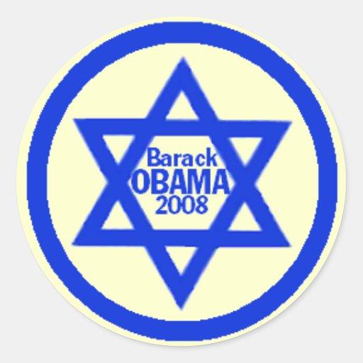 Pegatina JUDÍO de Obama