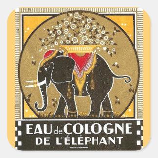 Pegatina l'elephant de agua de colonia