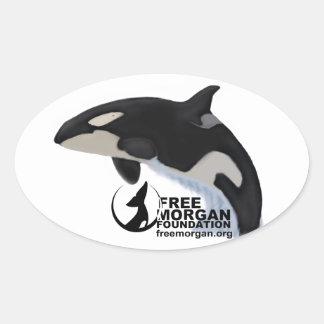 Pegatina libre de Morgan