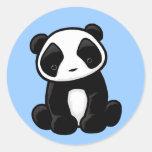 Pegatina lindo de la panda