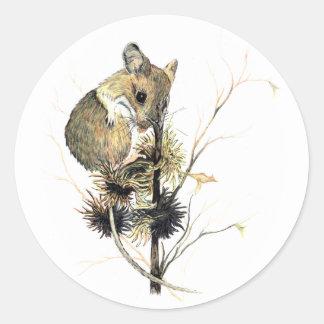 Pegatina lindo del ratón