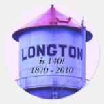 Pegatina: ¡Longton es 140! , 1870 - 2010