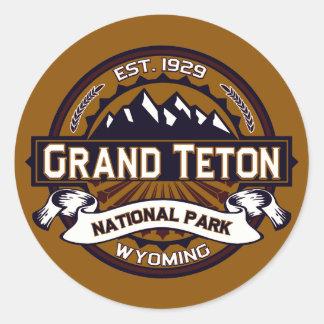 Pegatina magnífico del parque nacional de Teton