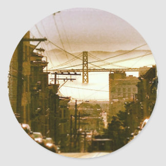 Pegatina: Mañana de San Francisco Bay